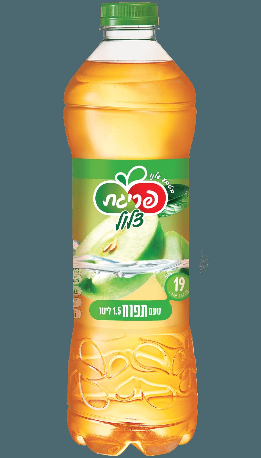 משקה צלול בטעם תפוחים של פריגת