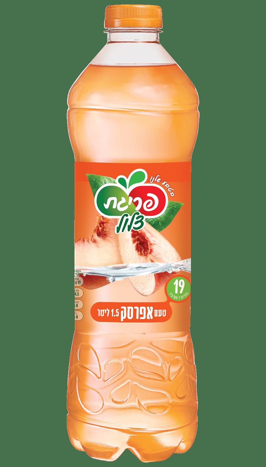 מיץ אפרסק צלול