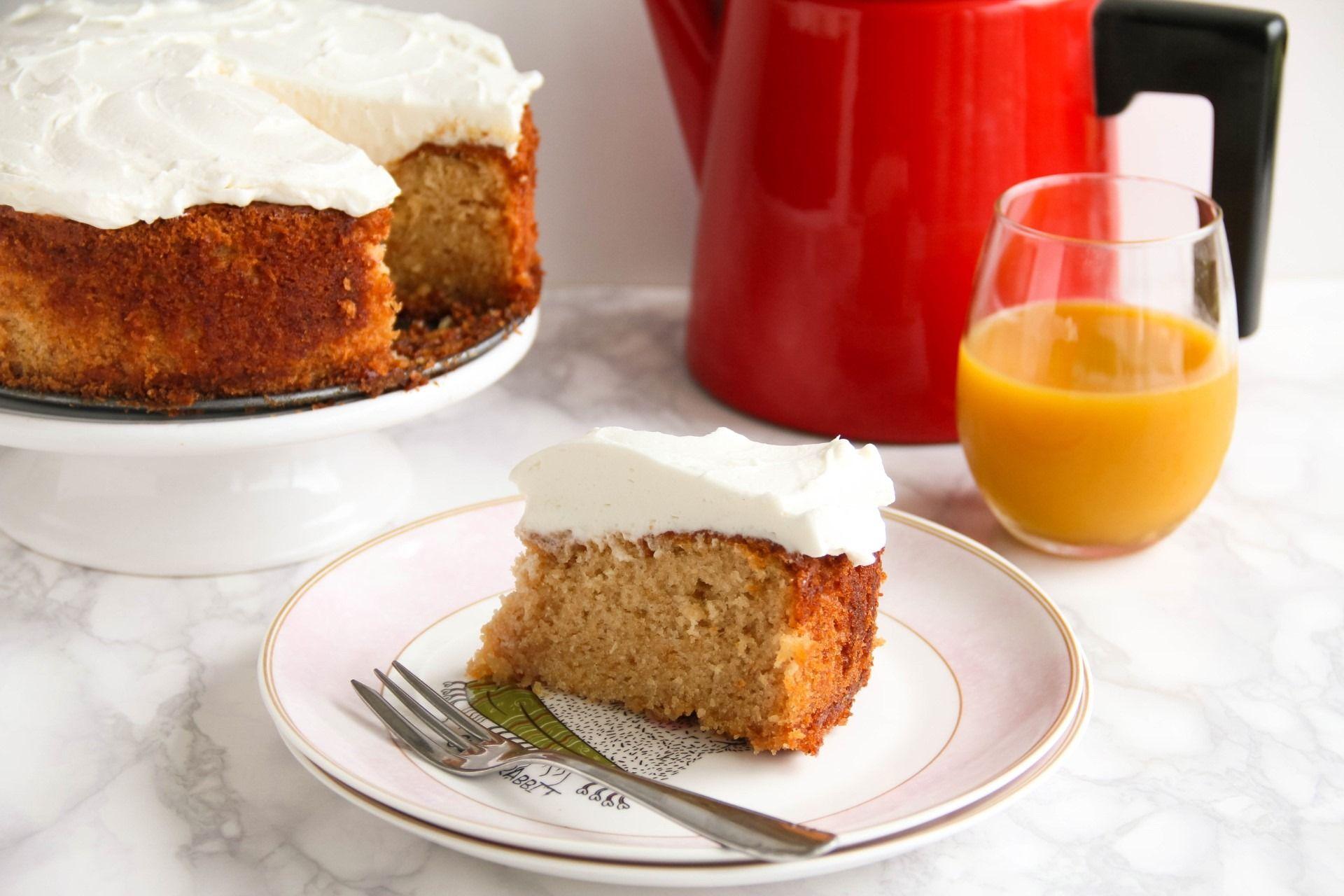 עוגת מנגו ושוקולד לבן